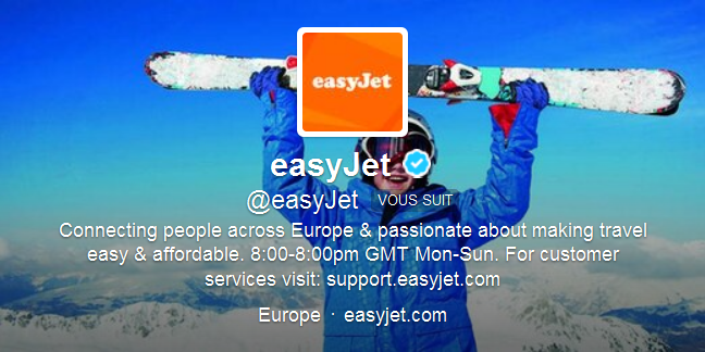 twitter easyjet