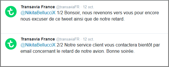 Tweet nikitabellucci_reponse TransaviaFR _3