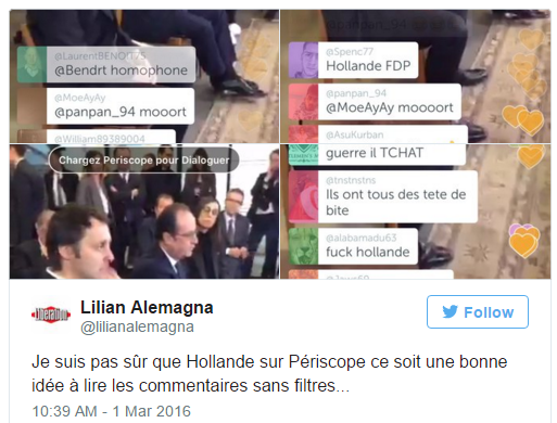 Periscope_François Hollande
